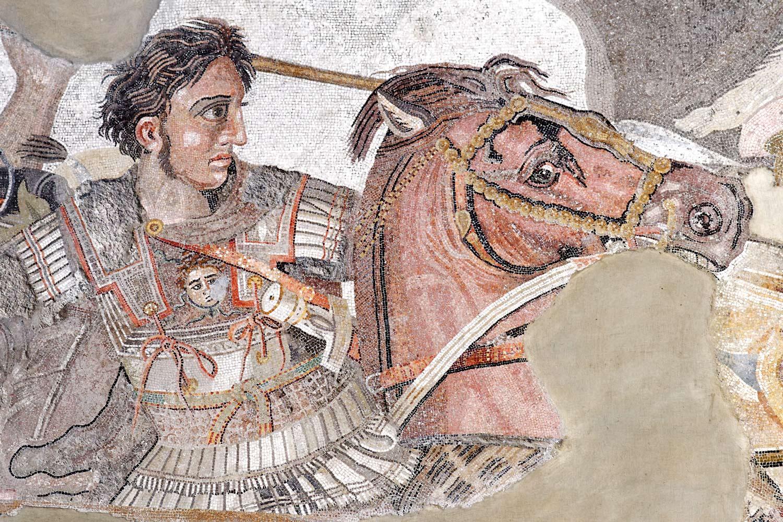 détail-alexandre-le-grand-bataille-issos Baba Bahri