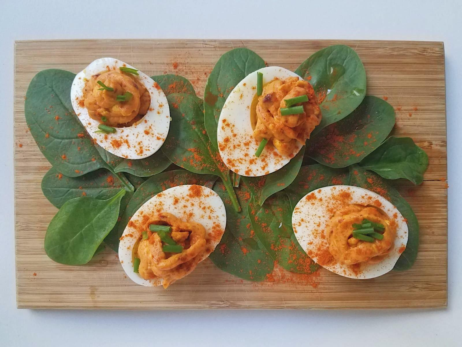 Recette Devils Eggs by Katy Lee for Baba Bahri