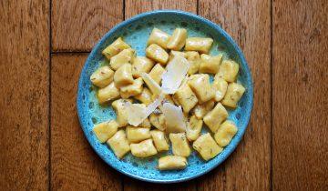 Délicieux Gnocchi à la Courge, Pommes de Terre et Thym Sauvage d'Ilaria Brunetti