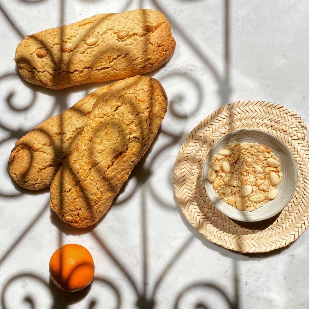 Recette-Croquant / Boulou aux amandes amères -Baba-Bahri